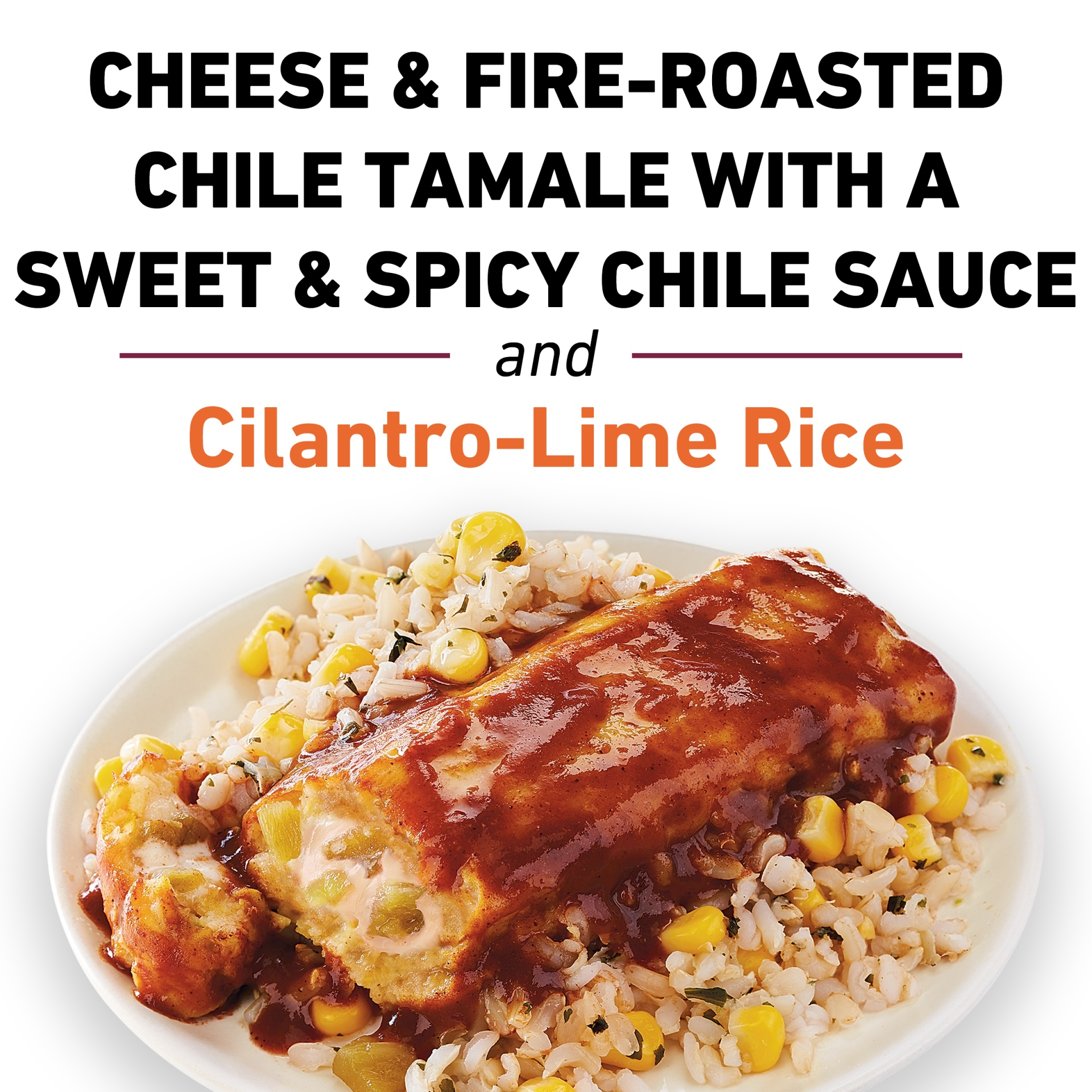 slide 9 of 9, Lean Cuisine Marketplace Cheese & Fire Roasted Chile Tamale,