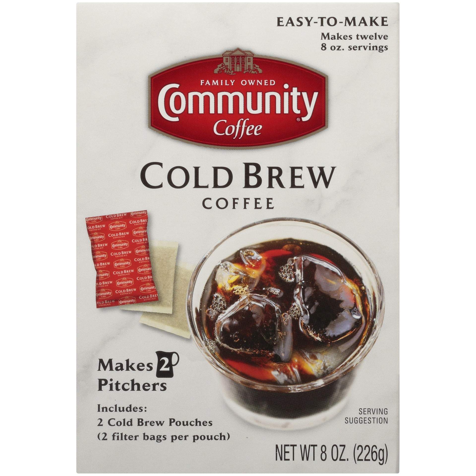 slide 4 of 7, Community Coffee Cold Brew Coffee 8 Oz. Box,