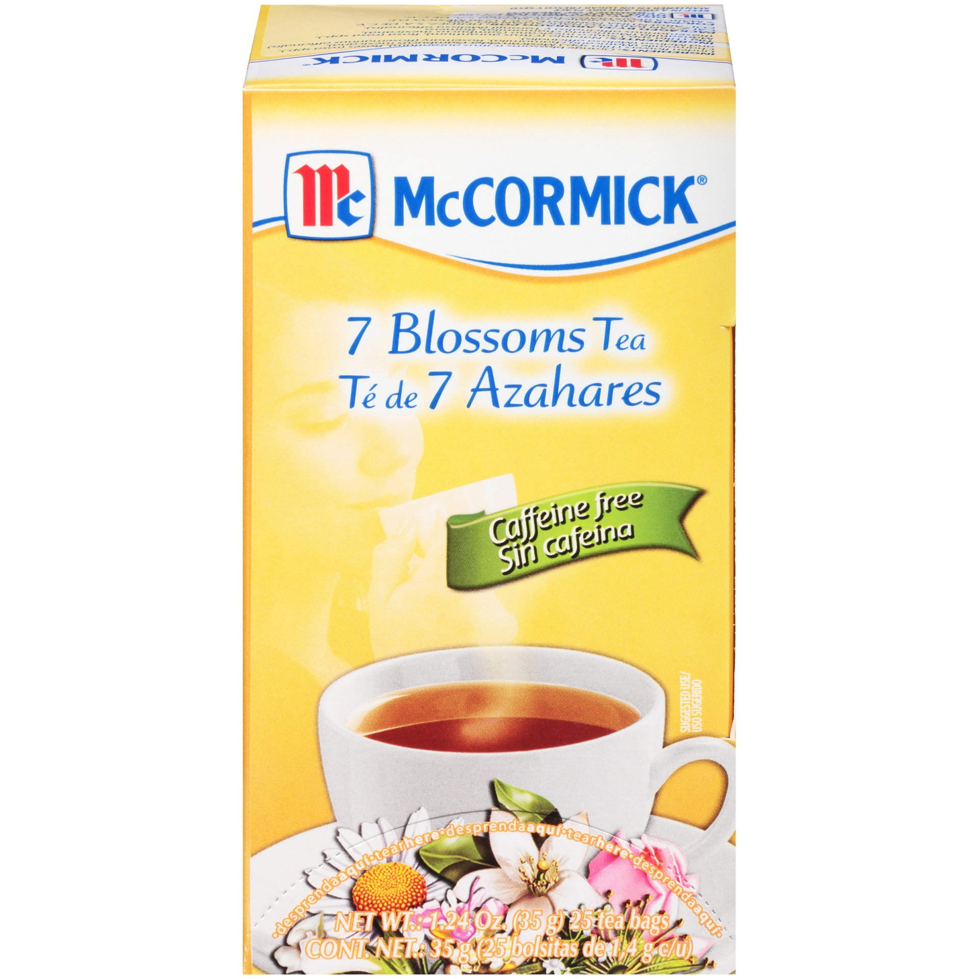 slide 1 of 7, Mccormick 7 Blossoms Tea Caffeine Free,
