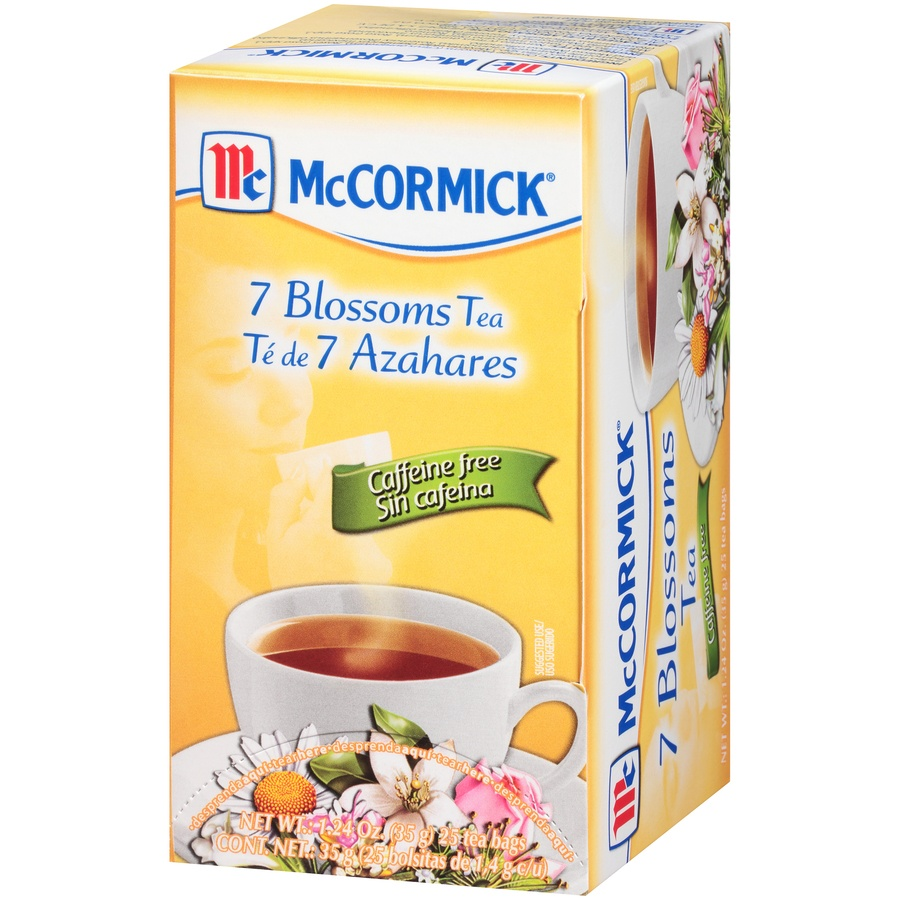 slide 3 of 7, Mccormick 7 Blossoms Tea Caffeine Free,