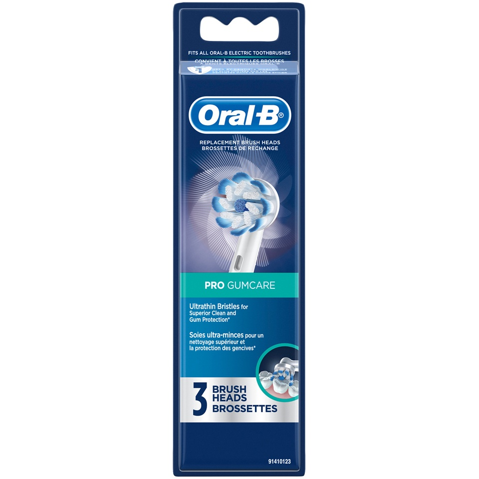 slide 1 of 4, Oral-B Pro Gumcare Replacement Brush Heads,