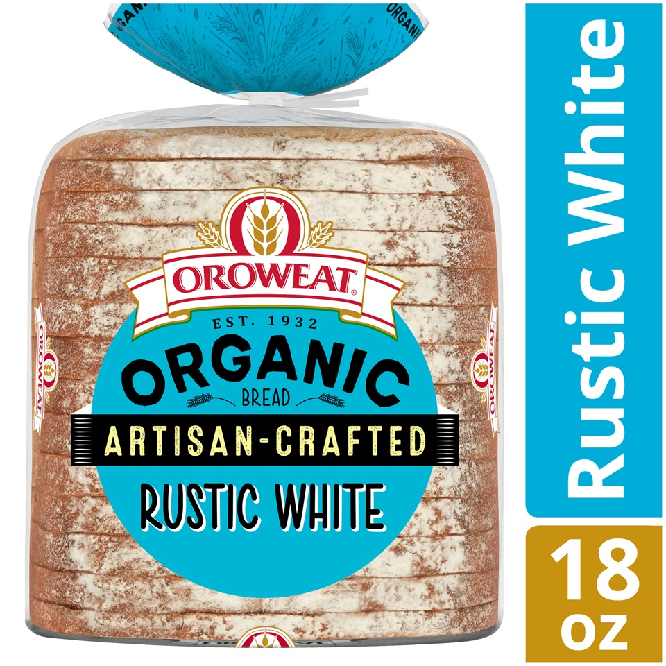 slide 2 of 9, Oroweat Organic Artisan Crafted Country White,