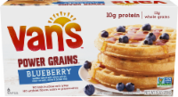 slide 1 of 1, Van's Power Grain Blueberry Waffles,