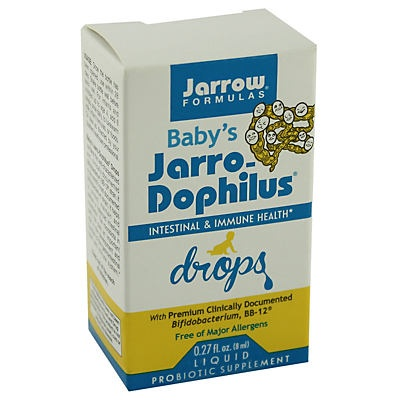 slide 1 of 1, Jarrow Baby Jarro-dophilus Drops,
