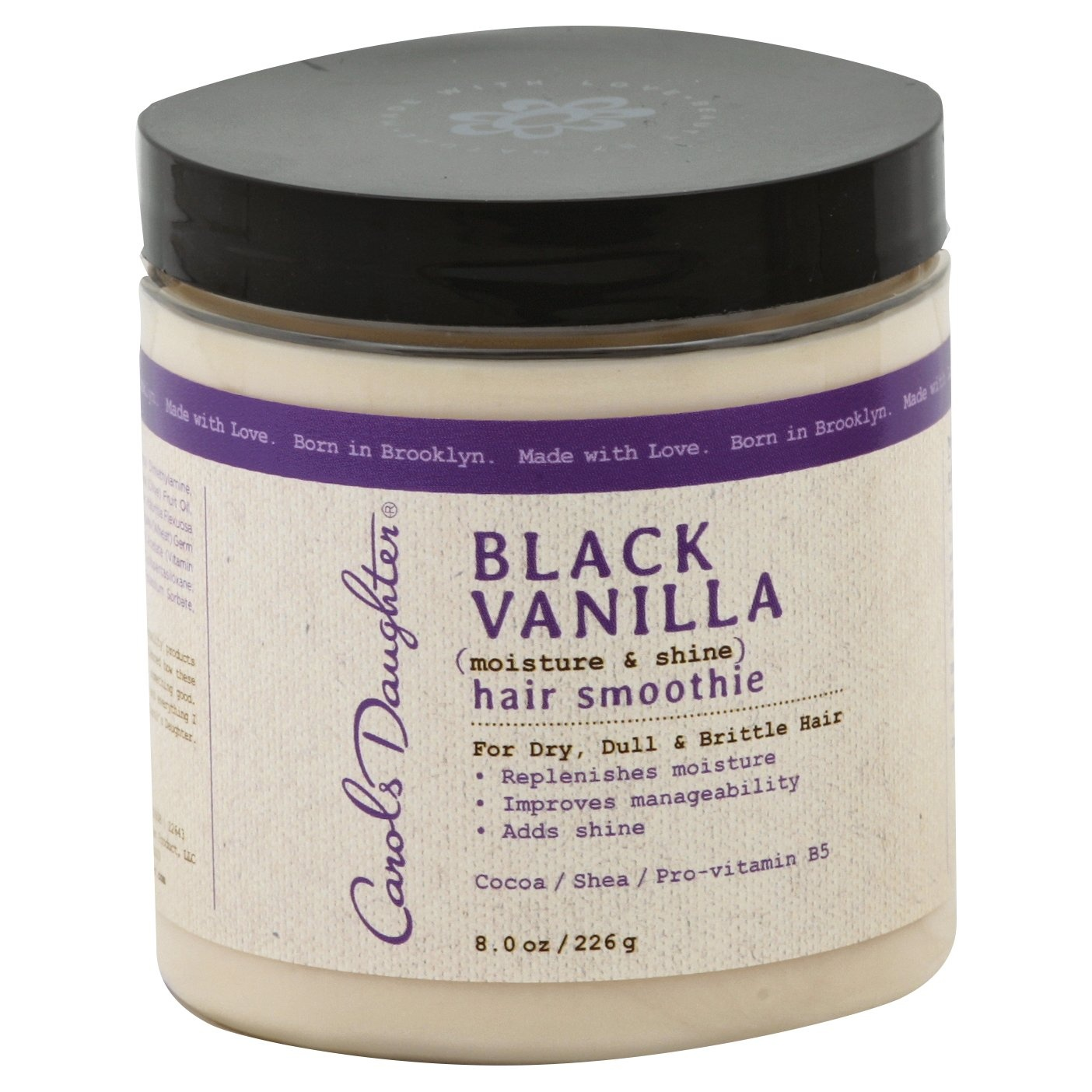 slide 1 of 6, Carol's Daughter Black Vanilla Moisture And Shine Hair Smoothie,