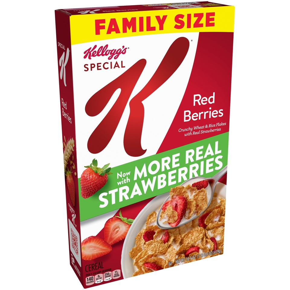 slide 3 of 3, Special K Red Berries Cereal - Kellogg's,