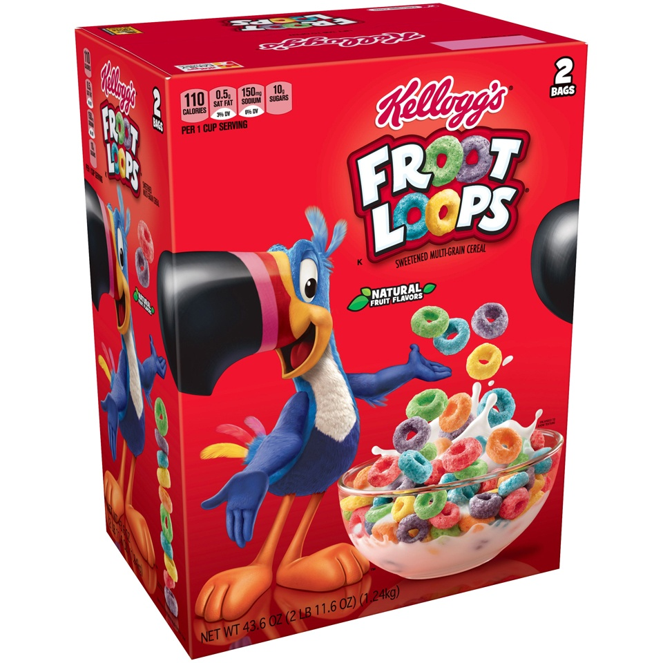 slide 3 of 4, Fruit Loops Cereal,