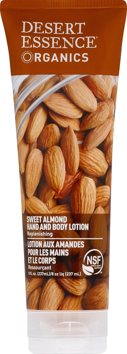 slide 2 of 2, Desert Essence Almond Hand & Body Lotion,
