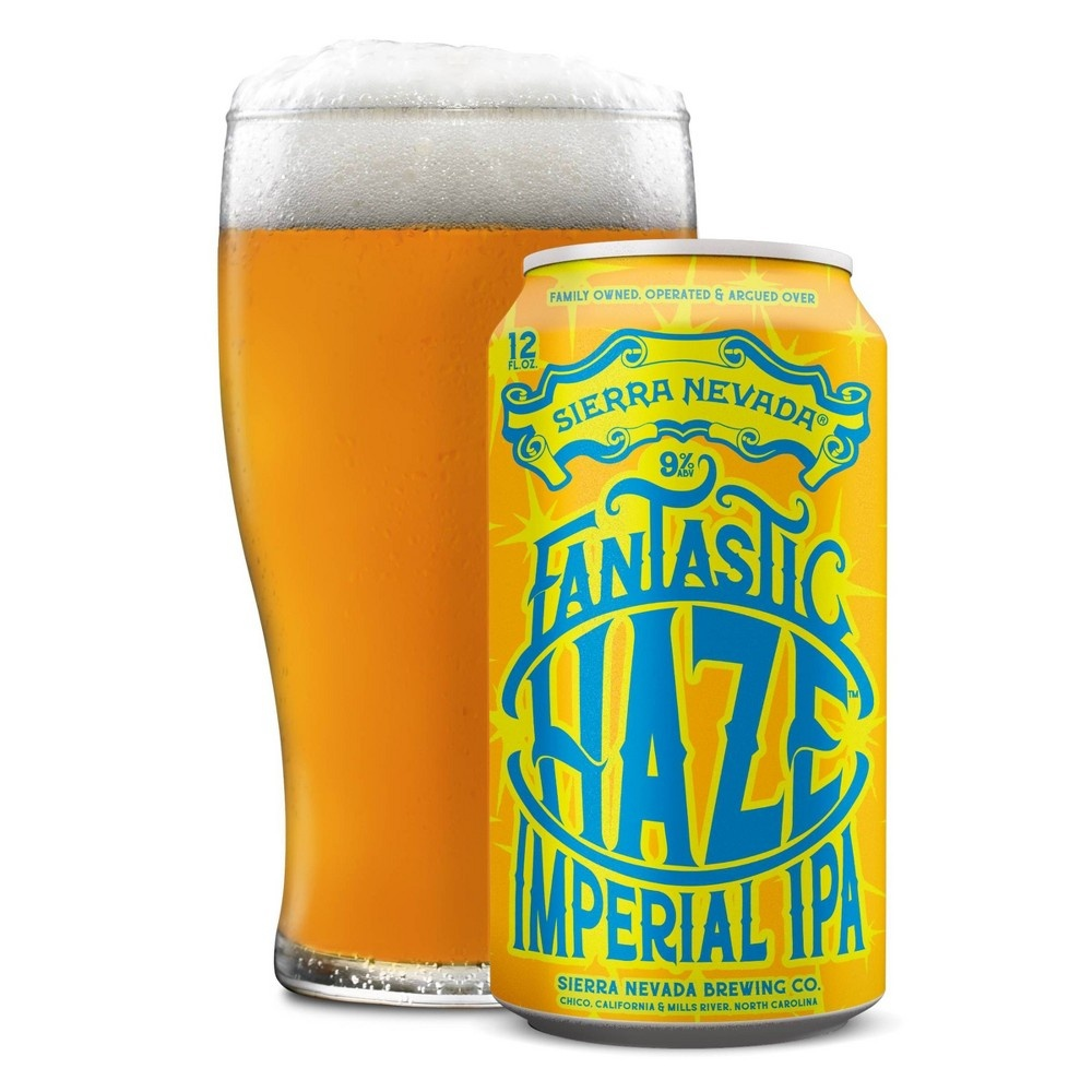 slide 3 of 3, Sierra Nevada Fantastic Haze Imperial IPA Cans,