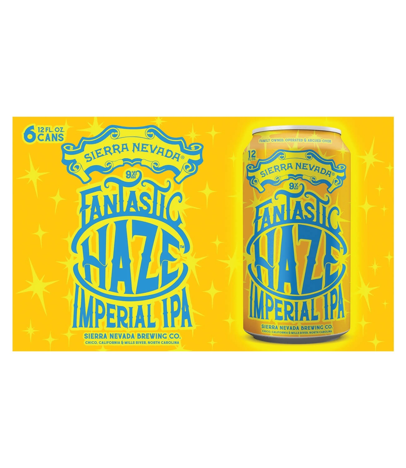 slide 1 of 3, Sierra Nevada Fantastic Haze Imperial IPA Cans,