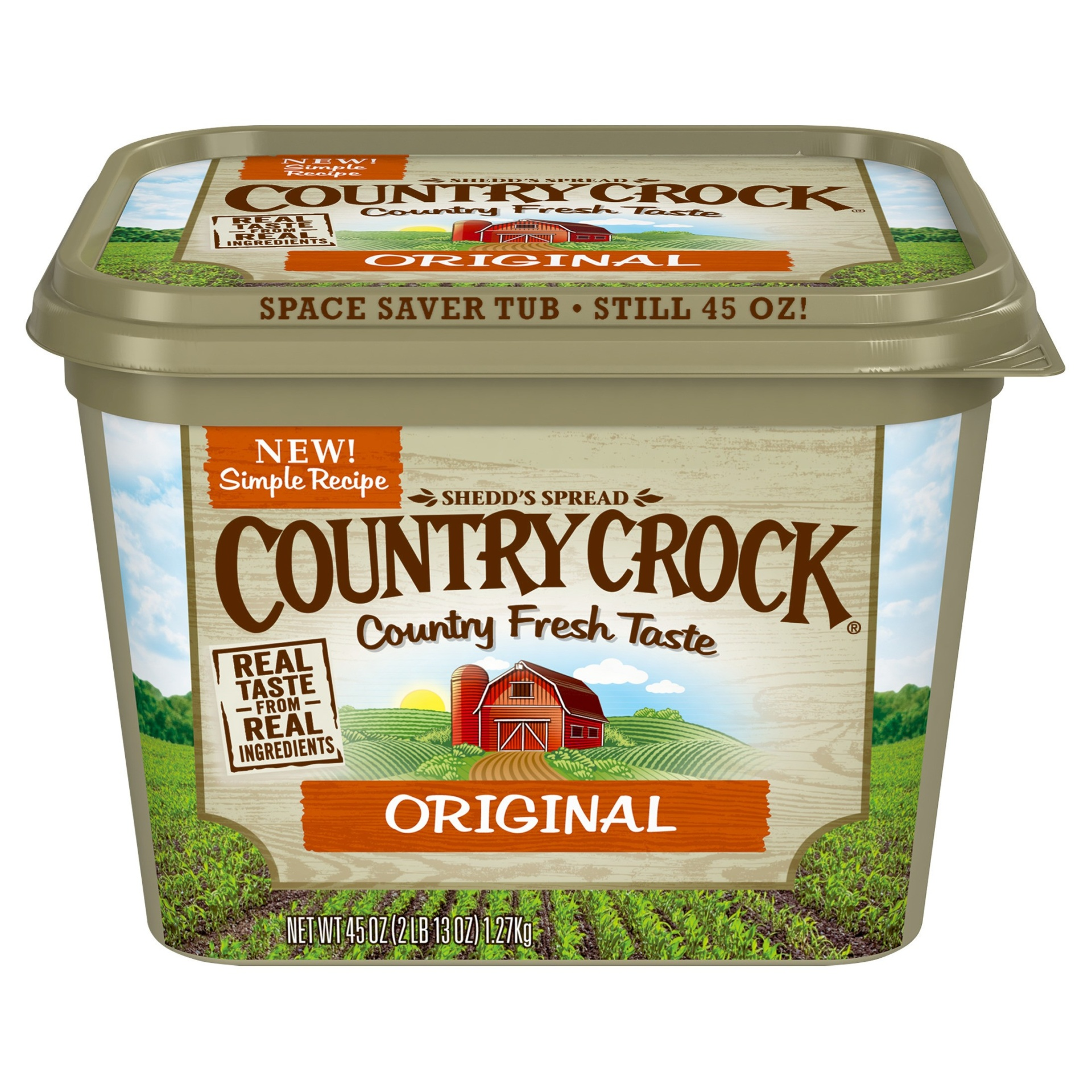 slide 1 of 1, Country Crock Original Vegetable Oil Spread,