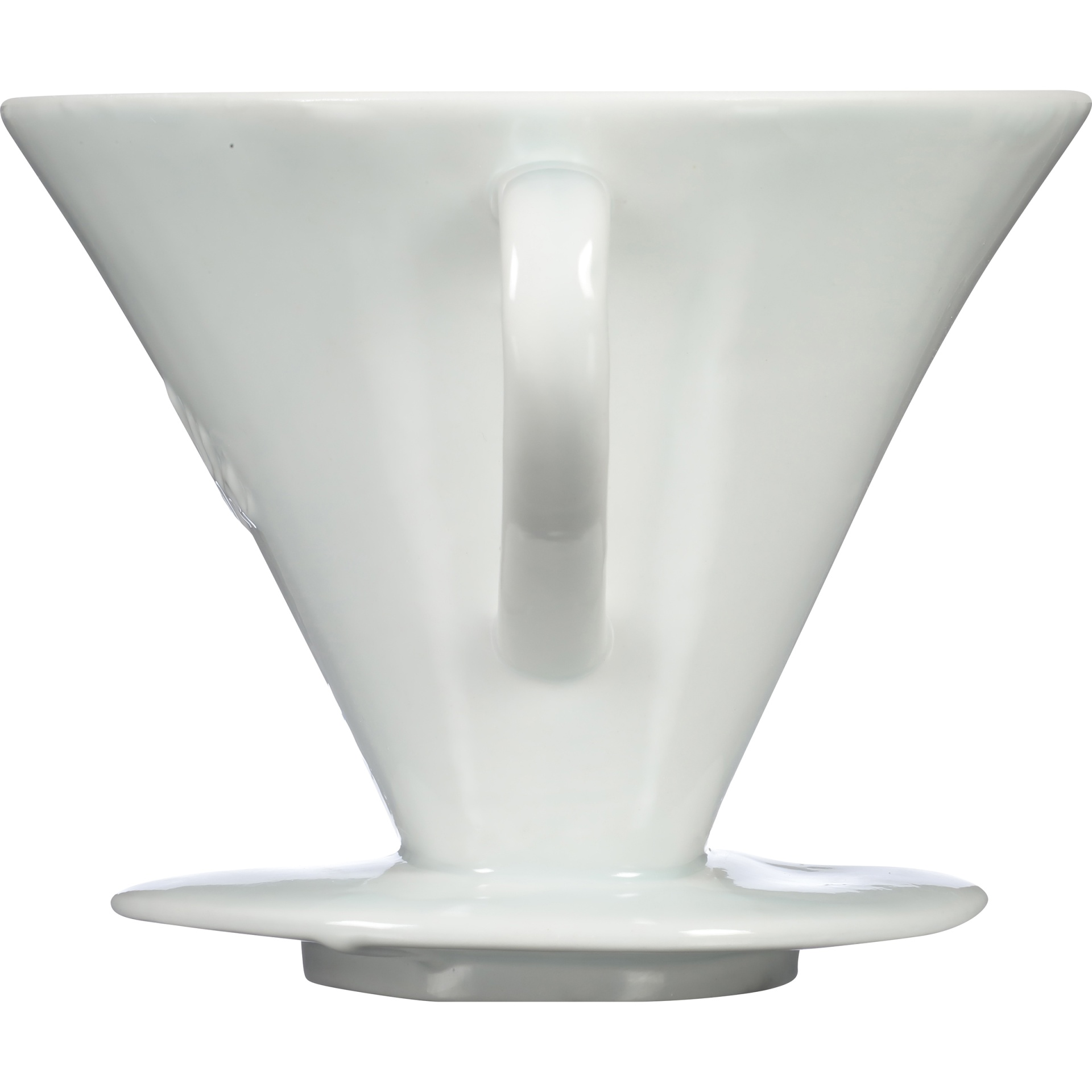 slide 5 of 6, Melitta 1 Cup Porcelain Pour-Over Brewing Cone,