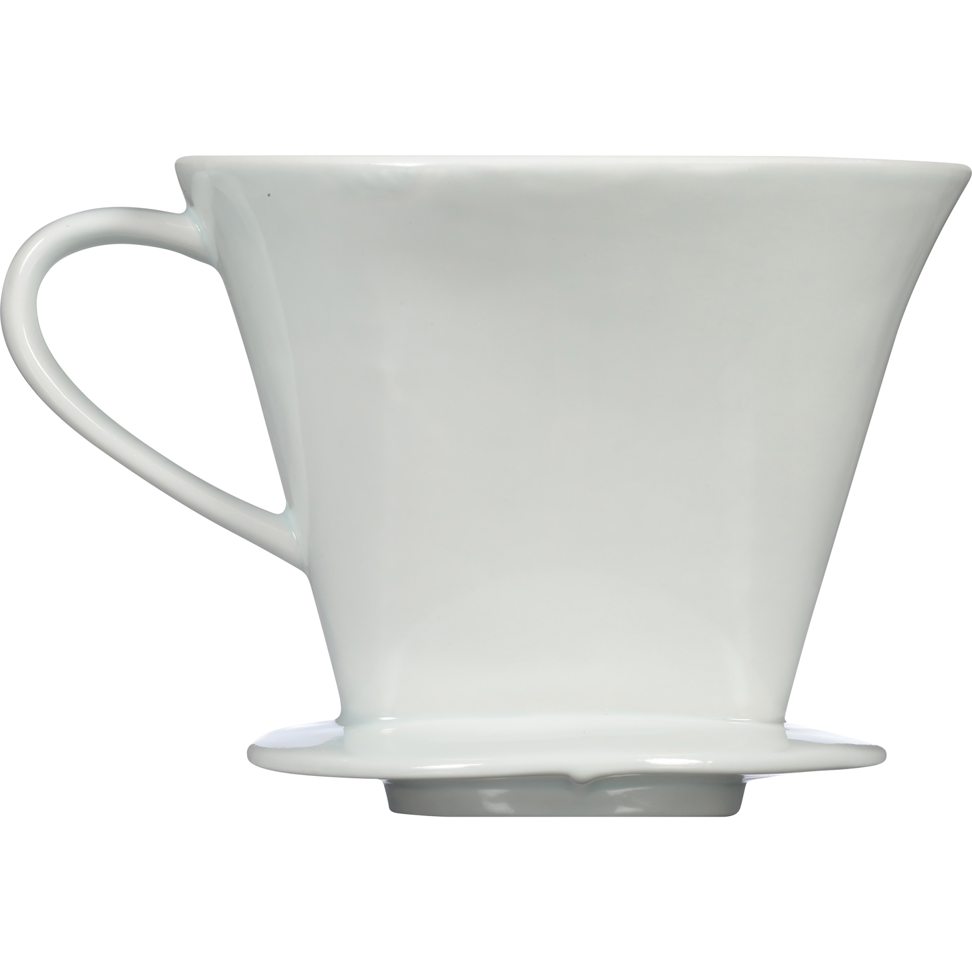 slide 6 of 6, Melitta 1 Cup Porcelain Pour-Over Brewing Cone,