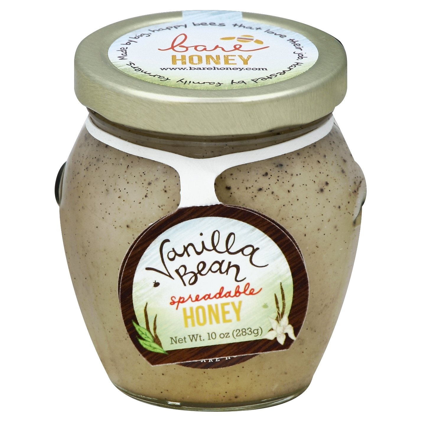 slide 1 of 1, Bare Honey Vanilla Bean Honey Spread,