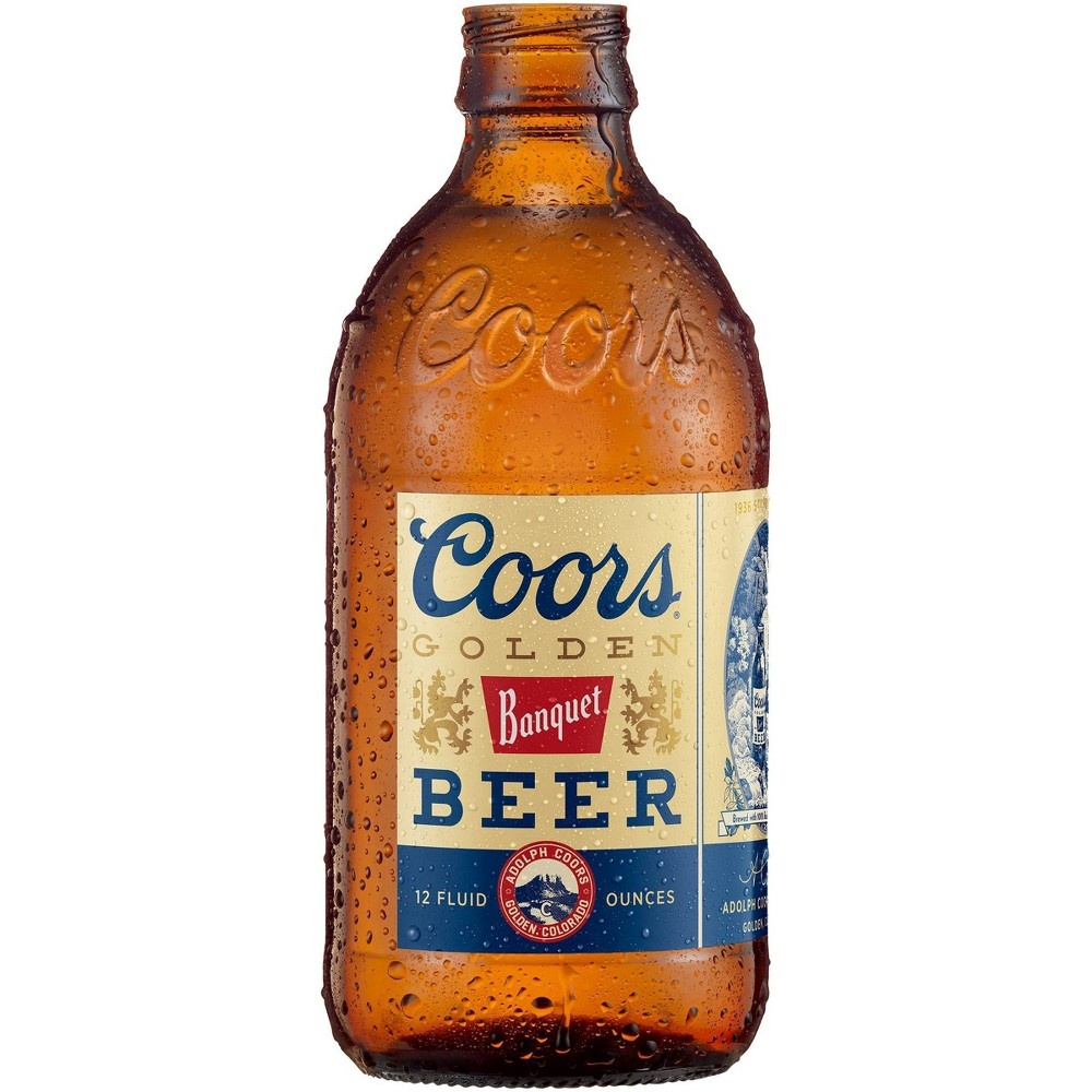 slide 2 of 2, Coors Golden Beer Bottles,