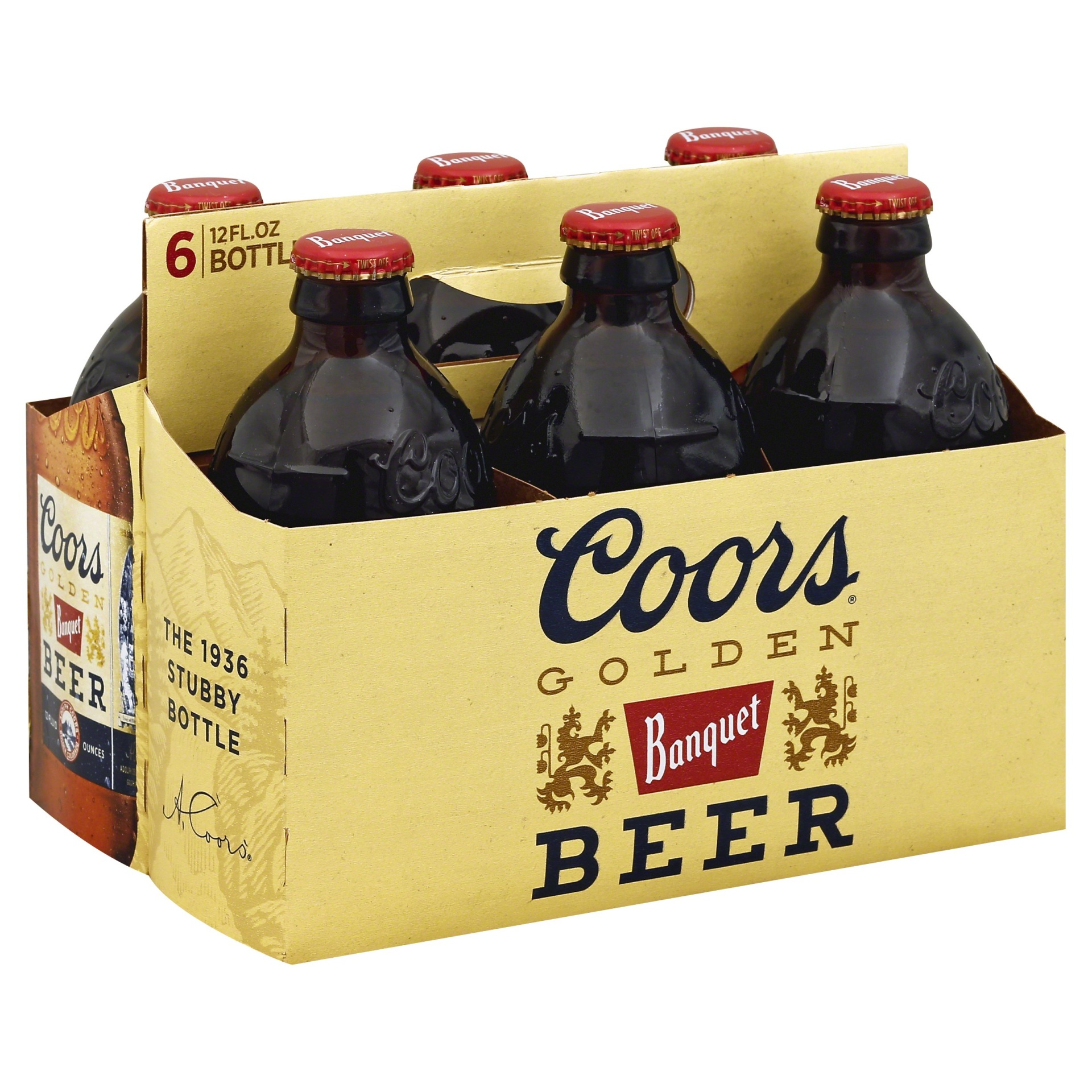 slide 1 of 2, Coors Golden Beer Bottles,