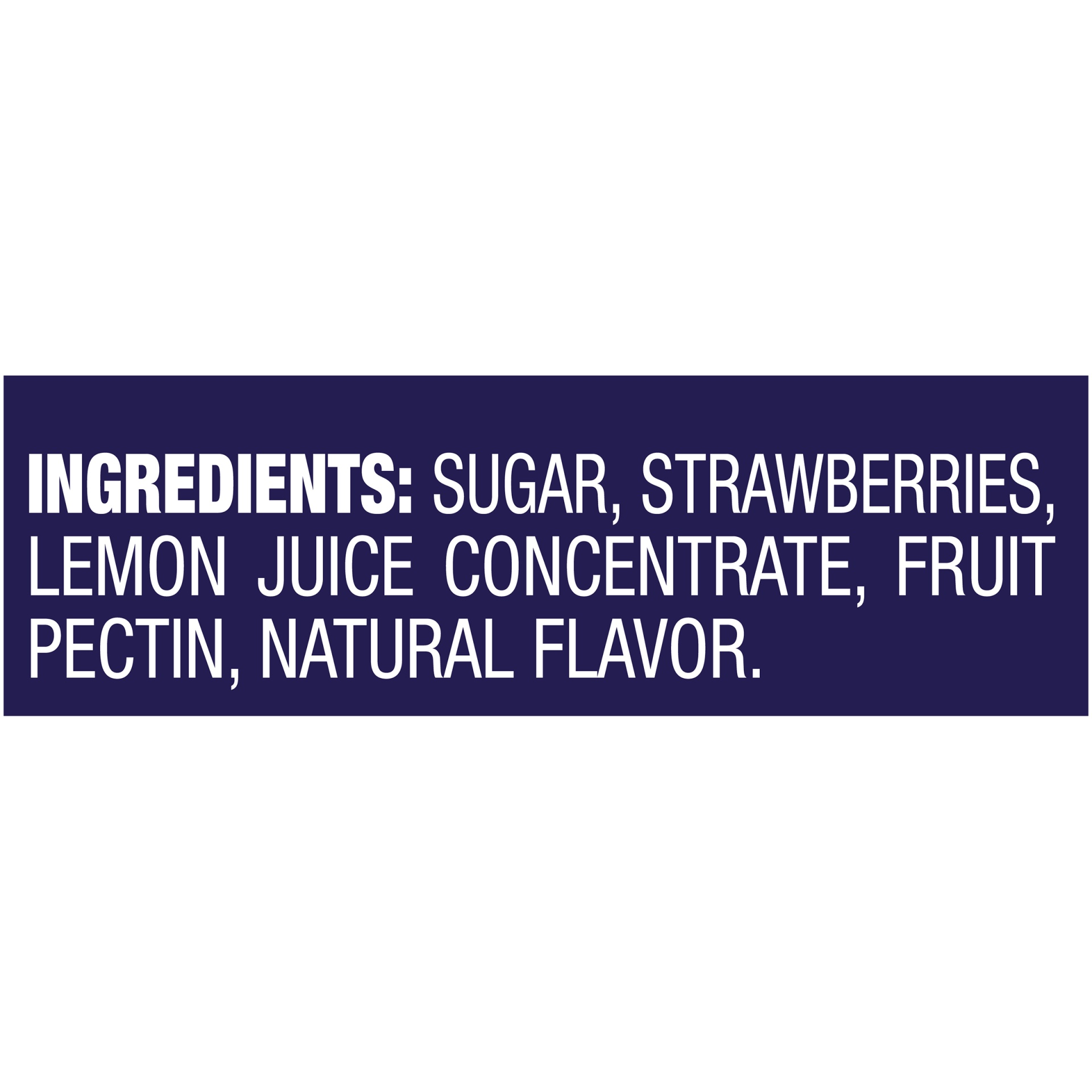 slide 5 of 5, Welch's Natural Strawberry Spread,