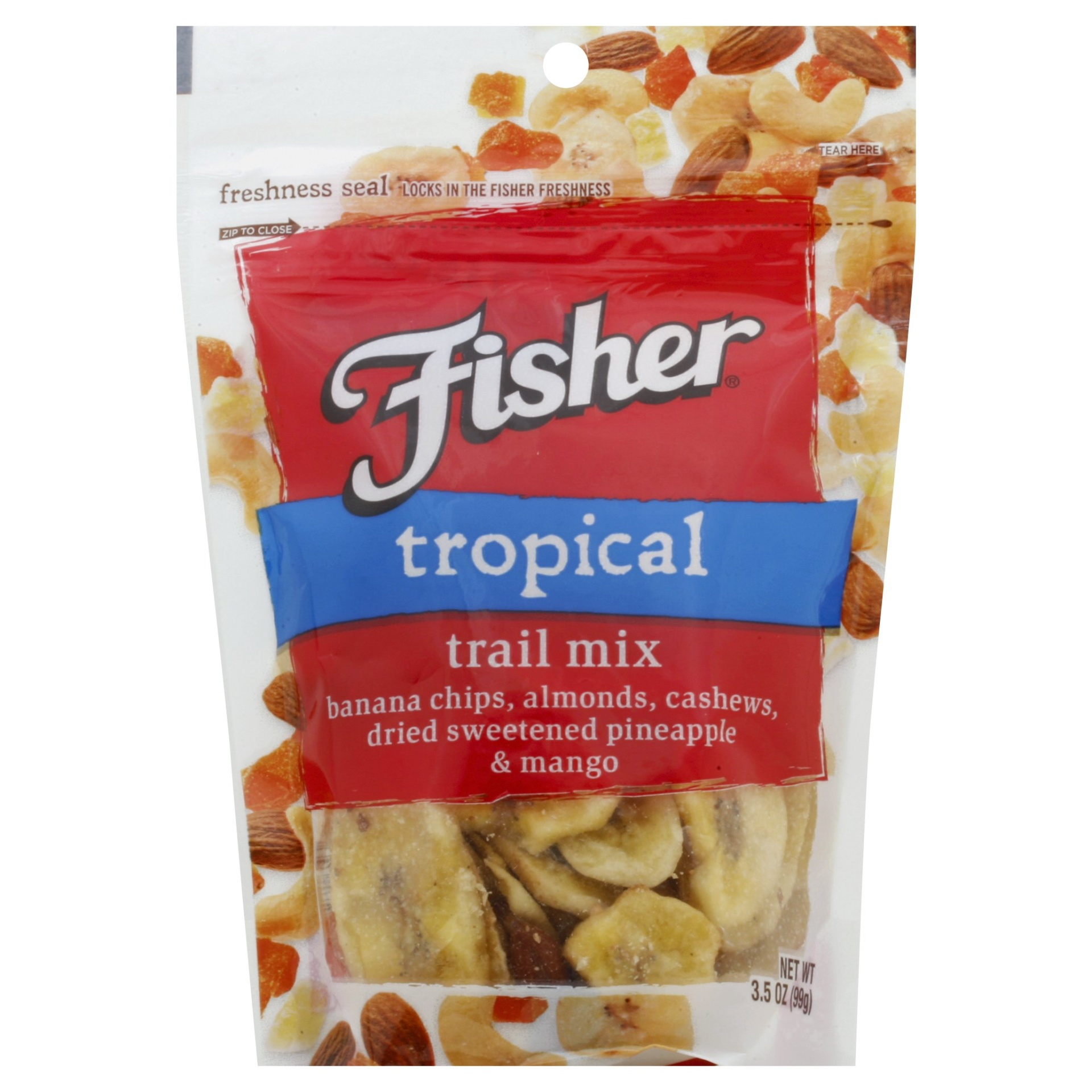slide 1 of 8, Fisher Tropical Trail Mix,