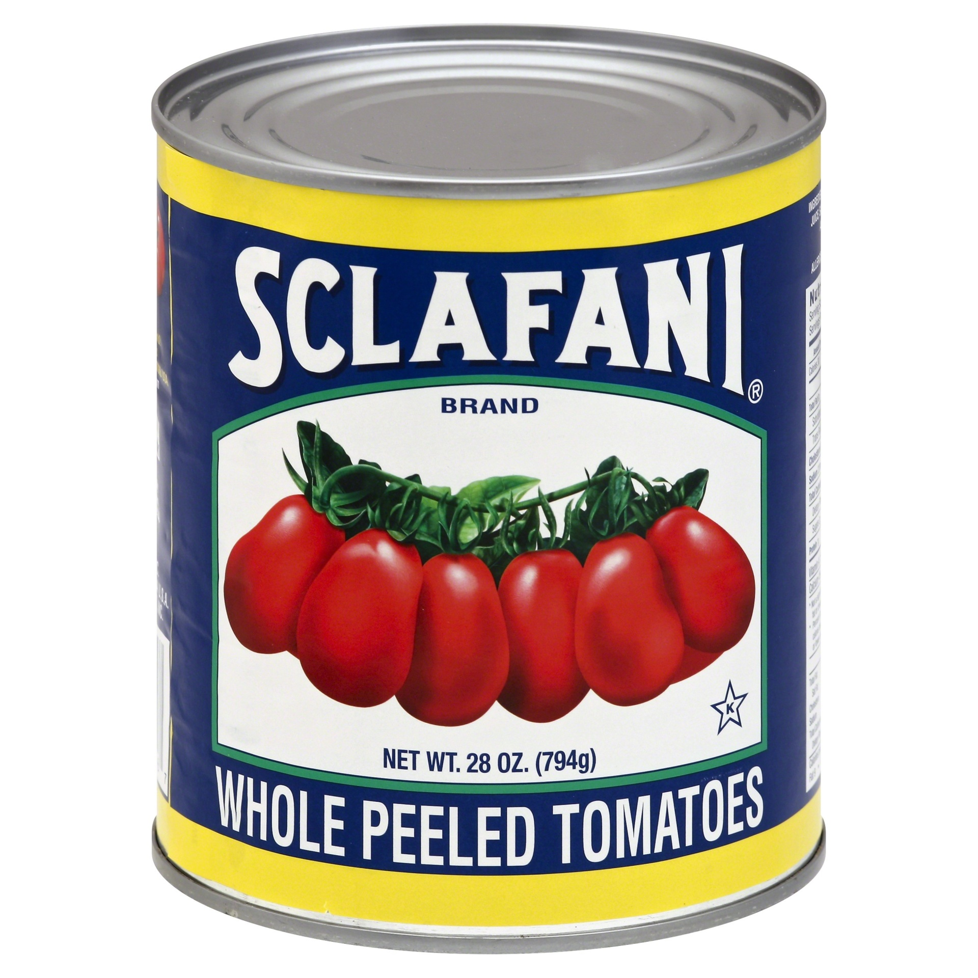 slide 1 of 1, Sclafani Whole Peeled Tomatoes,