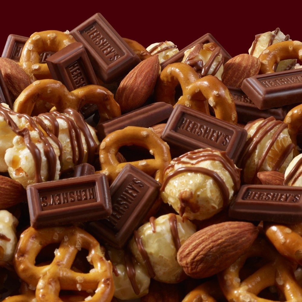 slide 2 of 3, Hershey's Popped Snack Mix,