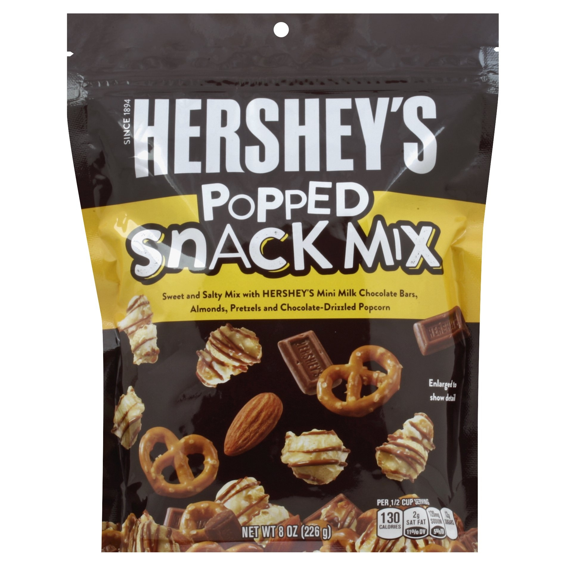 slide 1 of 3, Hershey's Popped Snack Mix,
