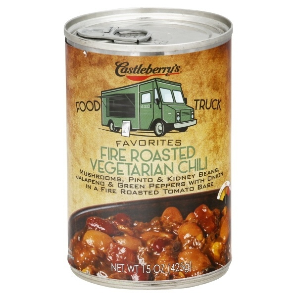 slide 1 of 1, Castleberry's Food Truck Veggie Chili,
