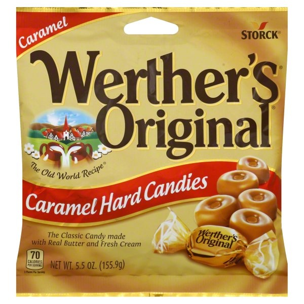 slide 1 of 2, Werther's Original Hard Candies,