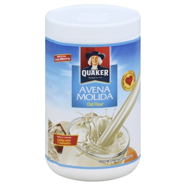 slide 1 of 1, Quaker Avena Oats With Iron,