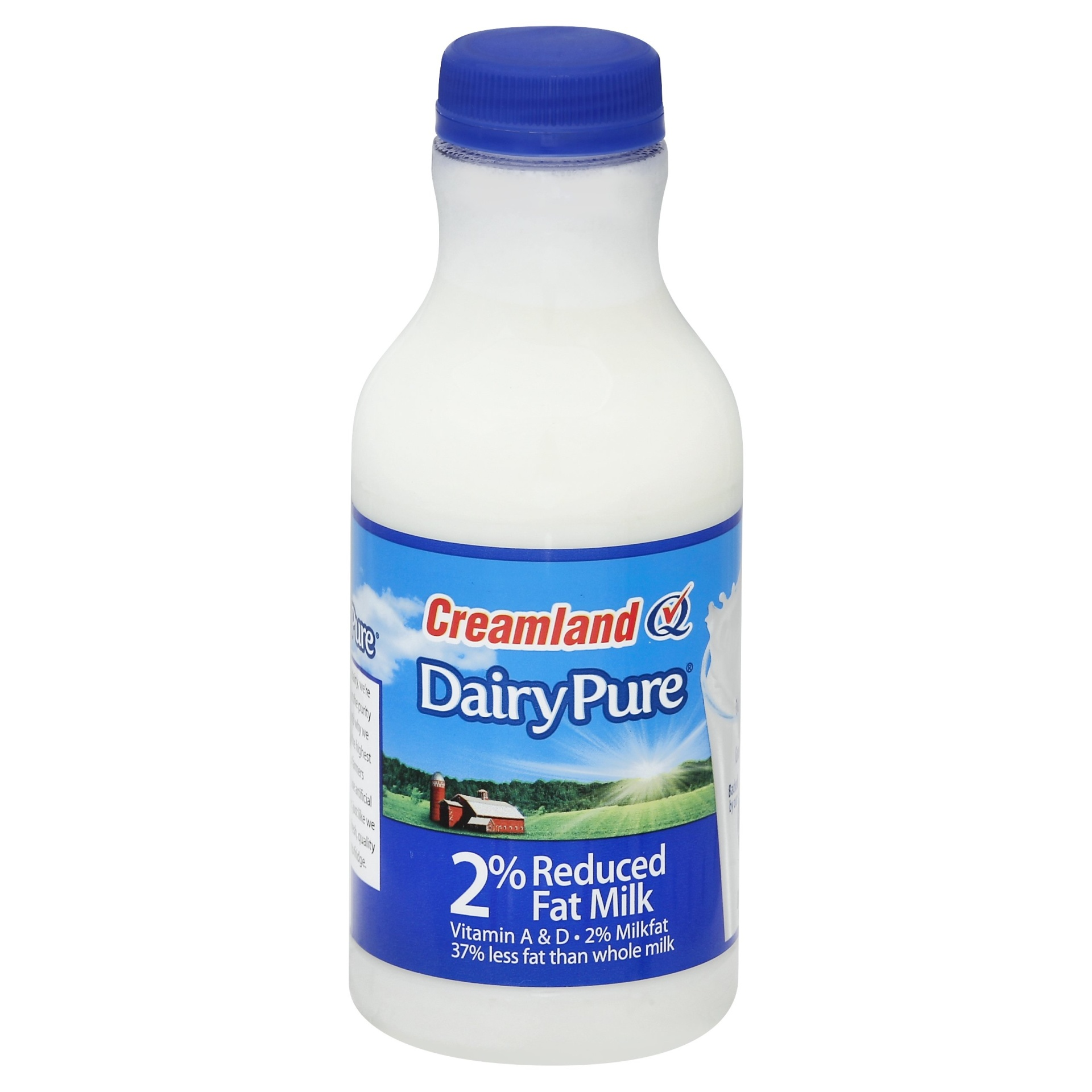 slide 1 of 1, Dean's Dairy Pure 2 Reduced Fat Milk,