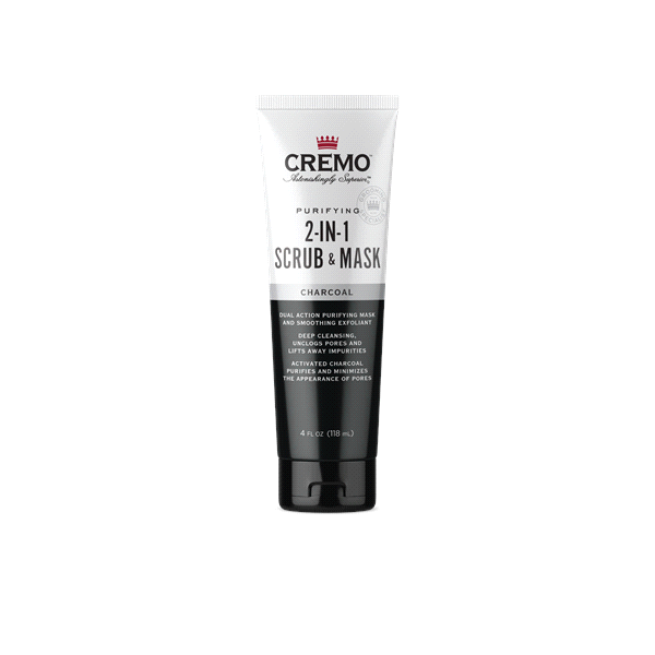 slide 1 of 1, Cremo Detox Face 2-In-1 Scrub & Mask Charcoal,