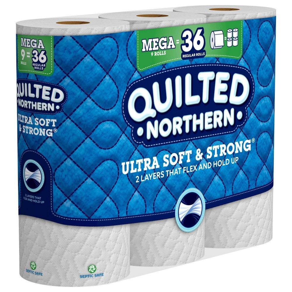 slide 3 of 5, Quilted Northern Ultra Soft & Strong Toilet Paper,