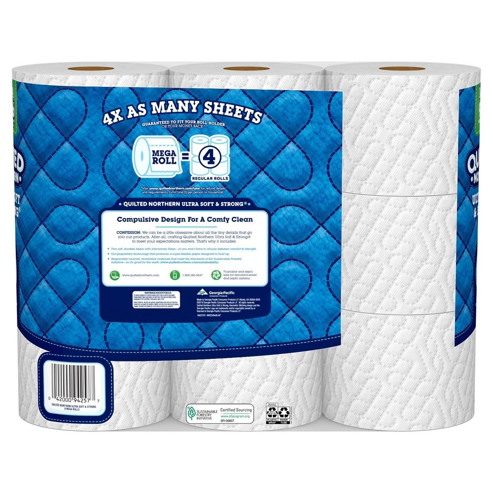 slide 4 of 5, Quilted Northern Ultra Soft & Strong Toilet Paper,