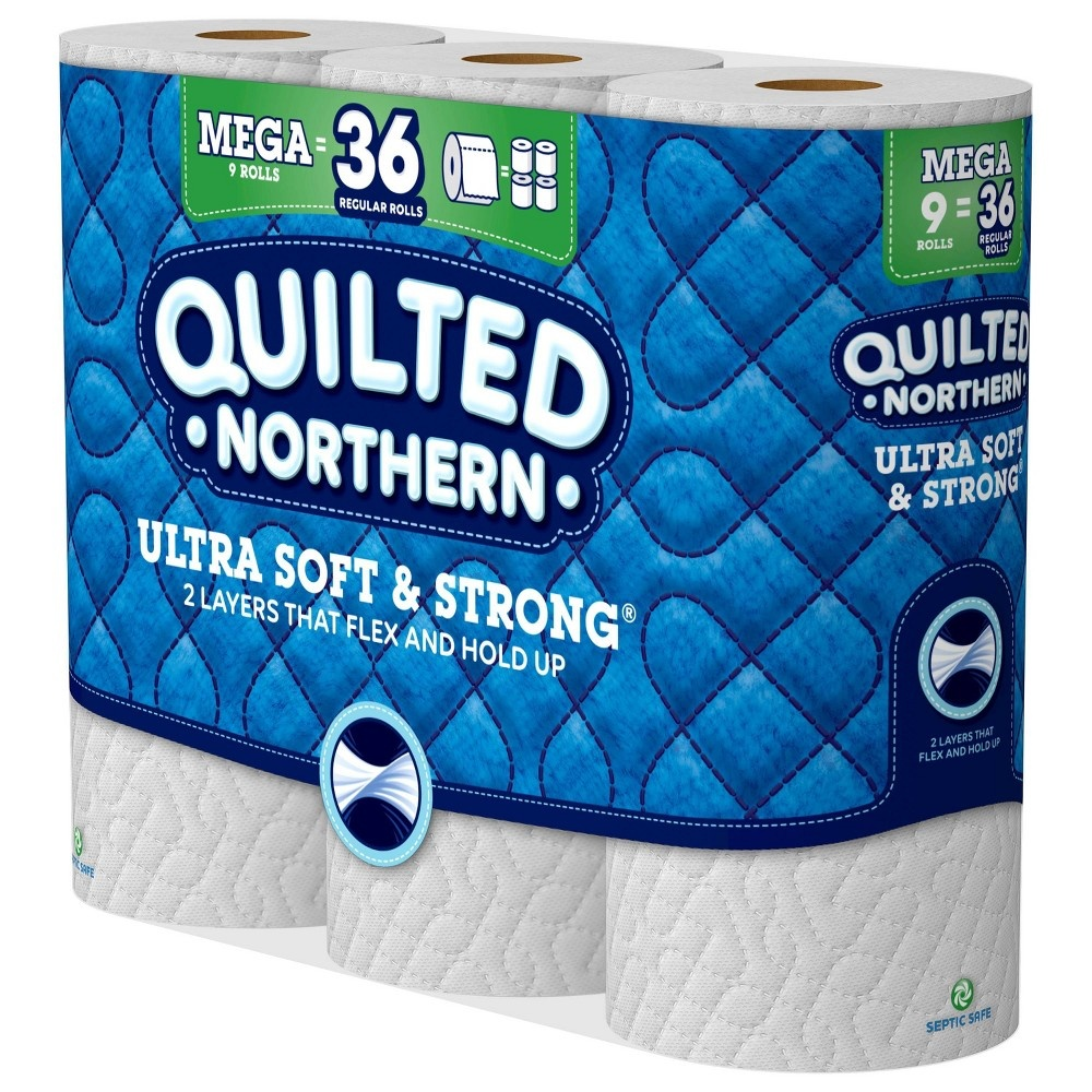 slide 5 of 5, Quilted Northern Ultra Soft & Strong Toilet Paper,