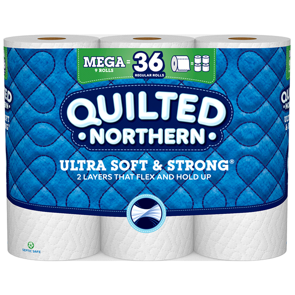 slide 1 of 5, Quilted Northern Ultra Soft & Strong Toilet Paper,