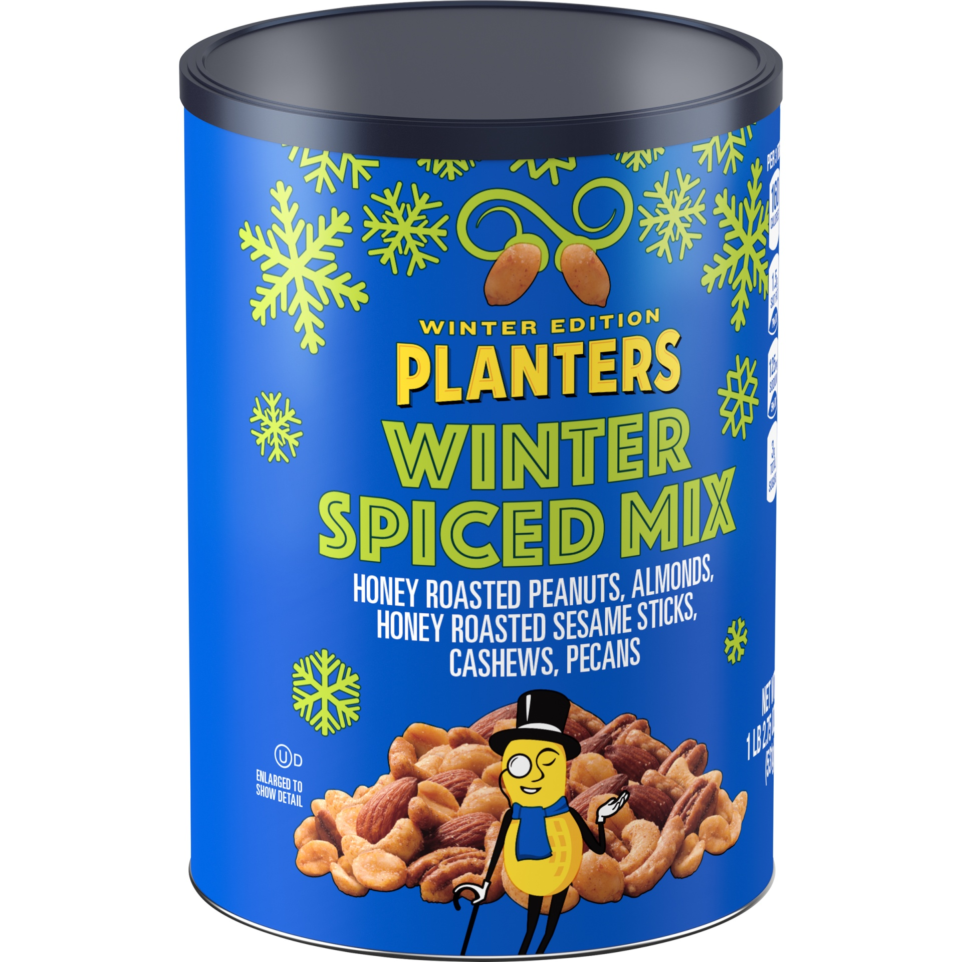 slide 2 of 6, Planters Winter Spiced Mix,