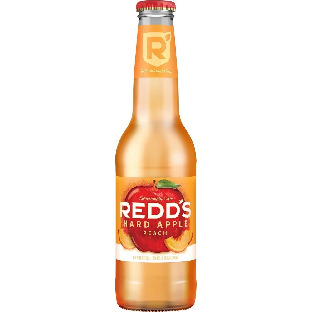 slide 2 of 4, Redd's Hard Apple Peach Ale Beer / Bottles,