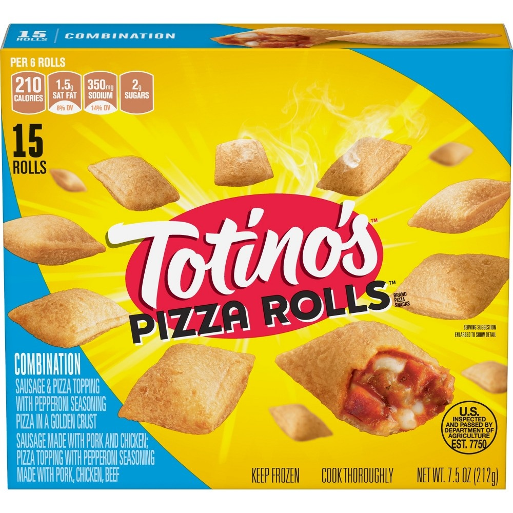 slide 3 of 3, Totino's Pizza Rolls Combination,