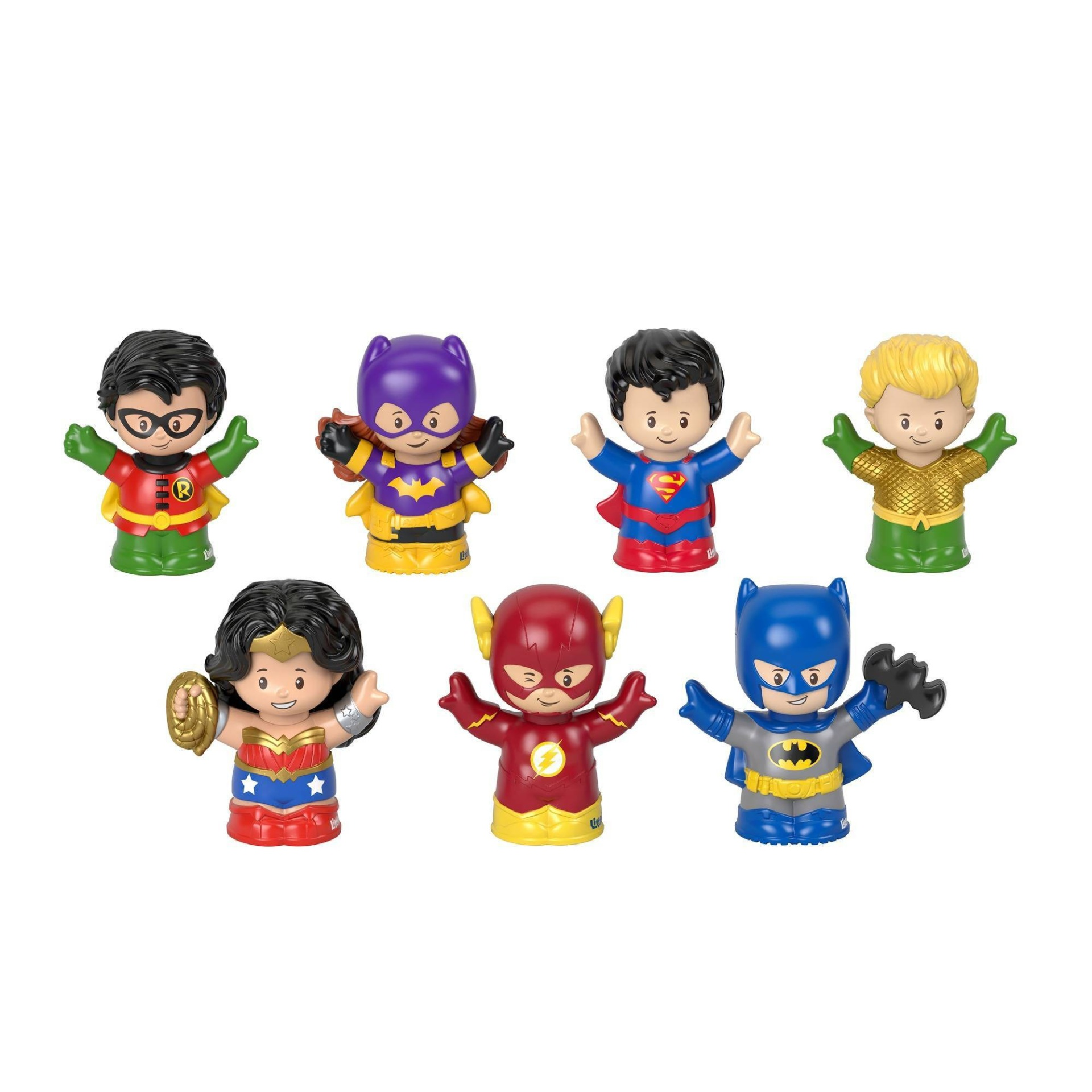 slide 1 of 6, Fisher-Price Little People DC Super Friends Exclusive Figure,