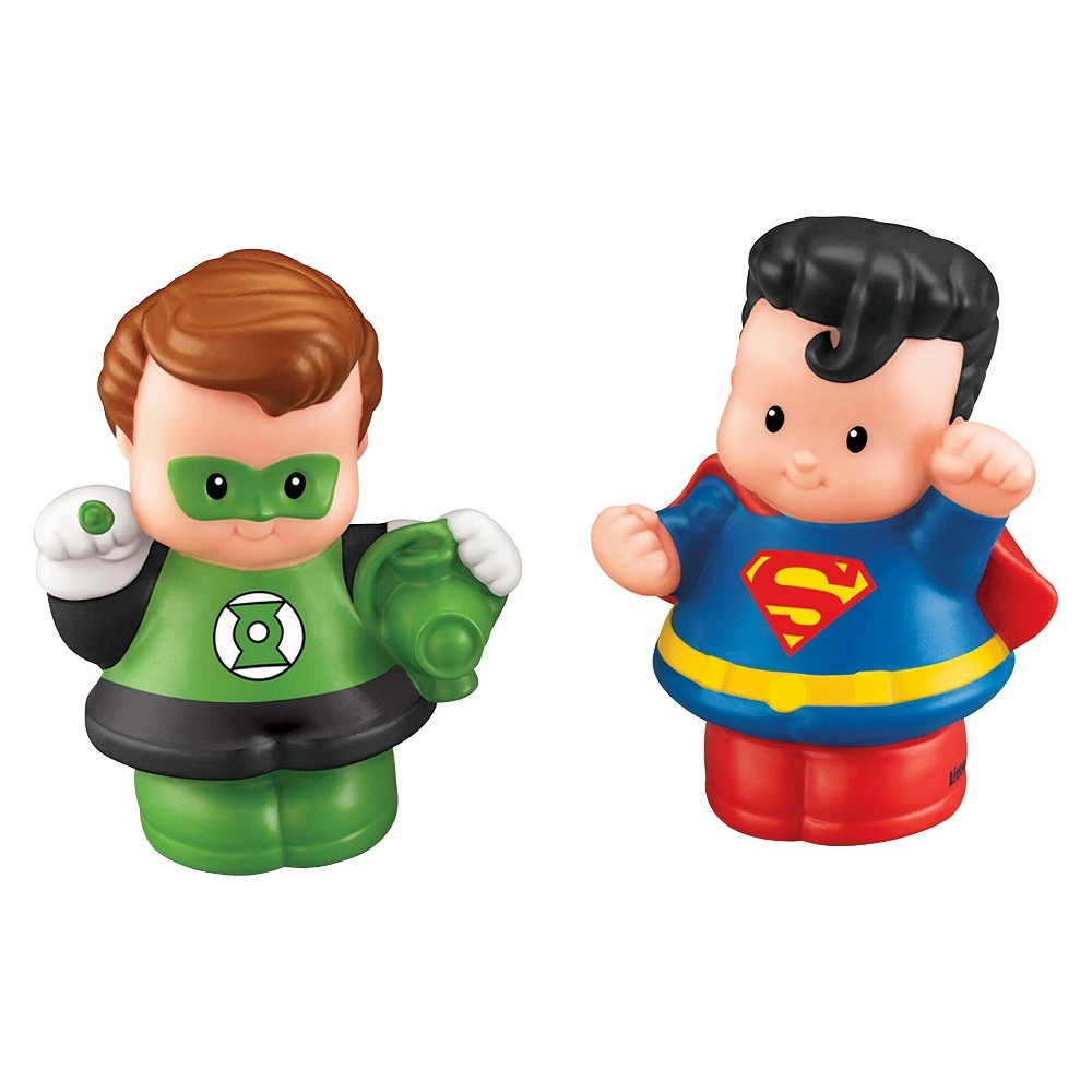 slide 3 of 6, Fisher-Price Little People DC Super Friends Exclusive Figure,