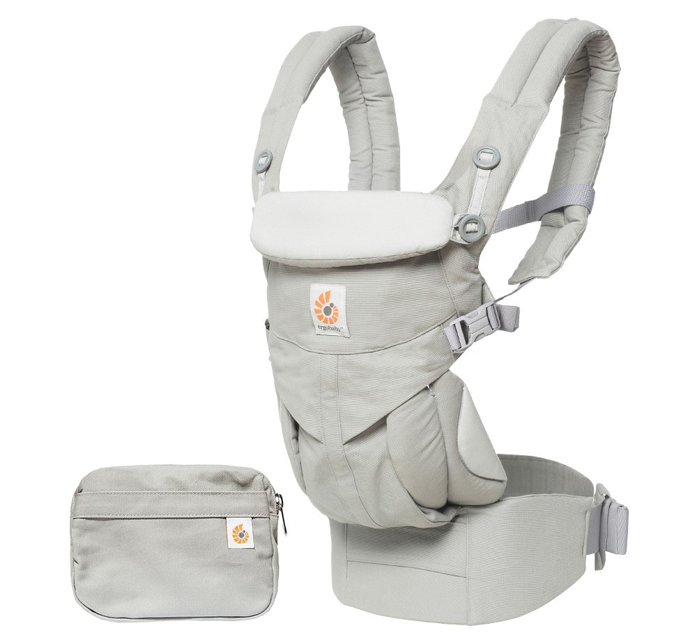 slide 3 of 5, Ergobaby Omni 360 All Carry Positions Ergonomic Baby Carrier - Pearl Gray,