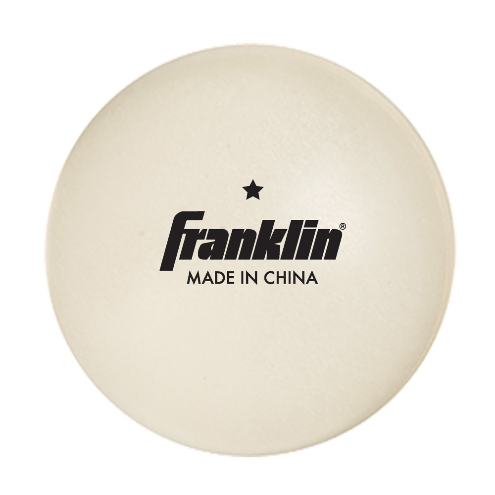 slide 2 of 2, Franklin Sports 40mm Table Tennis Balls,