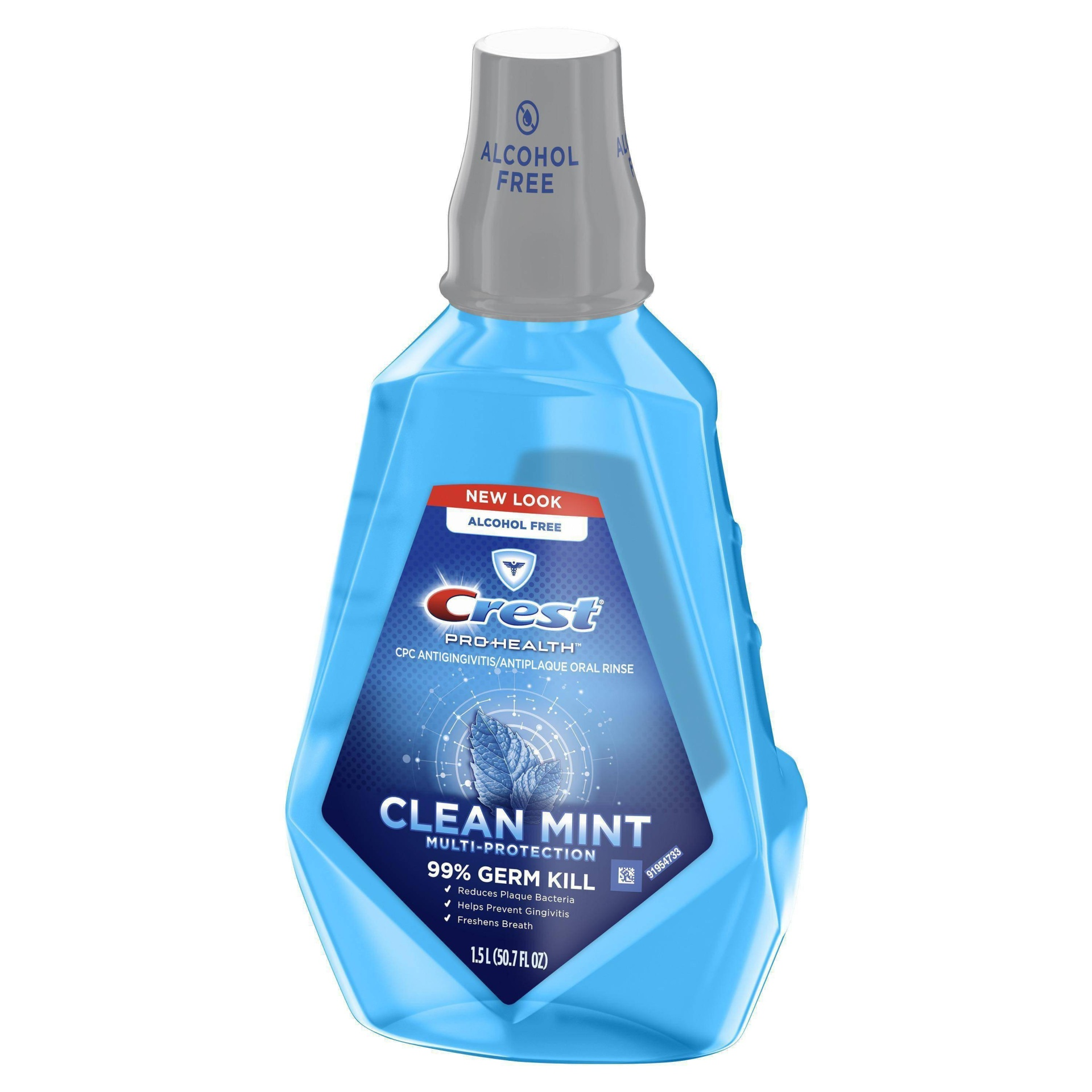 slide 1 of 3, Crest Pro-Health Clean Mint Multi-Protection CPC Antigingivitis Antiplaque Mouthwash,