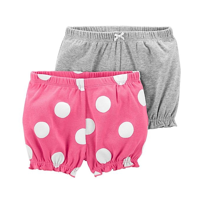 slide 1 of 1, Carter's Bubble Shorts,