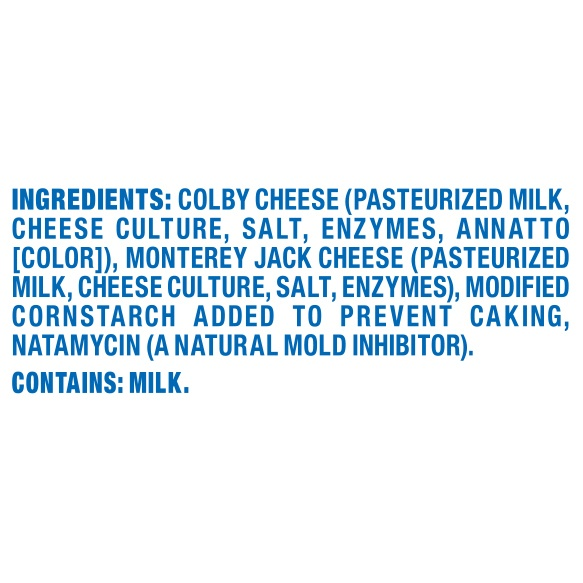 slide 6 of 6, Kraft Colby Jack Shredded Natural Cheese,
