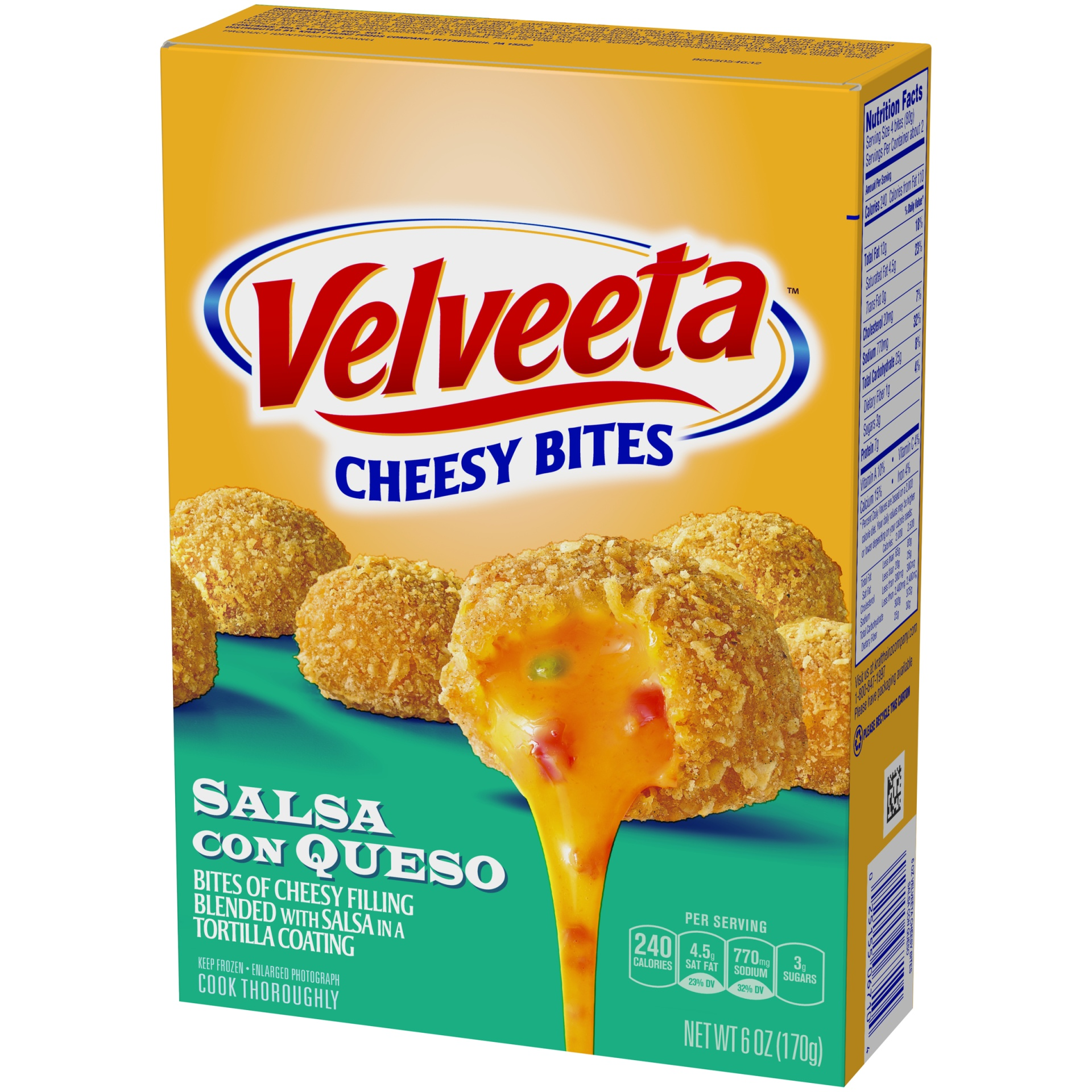 slide 3 of 6, Velveeta Salsa con Queso Cheesy Bites,