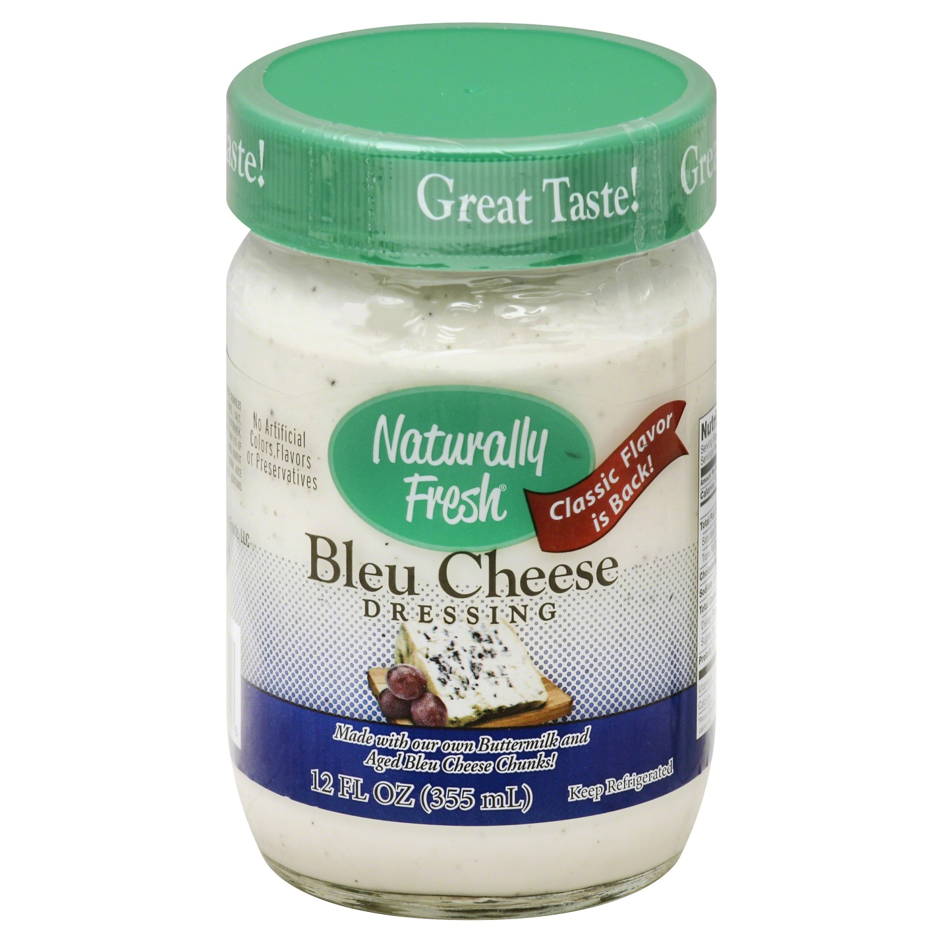 slide 1 of 1, Naturally Fresh Bleu Cheese Dressing,