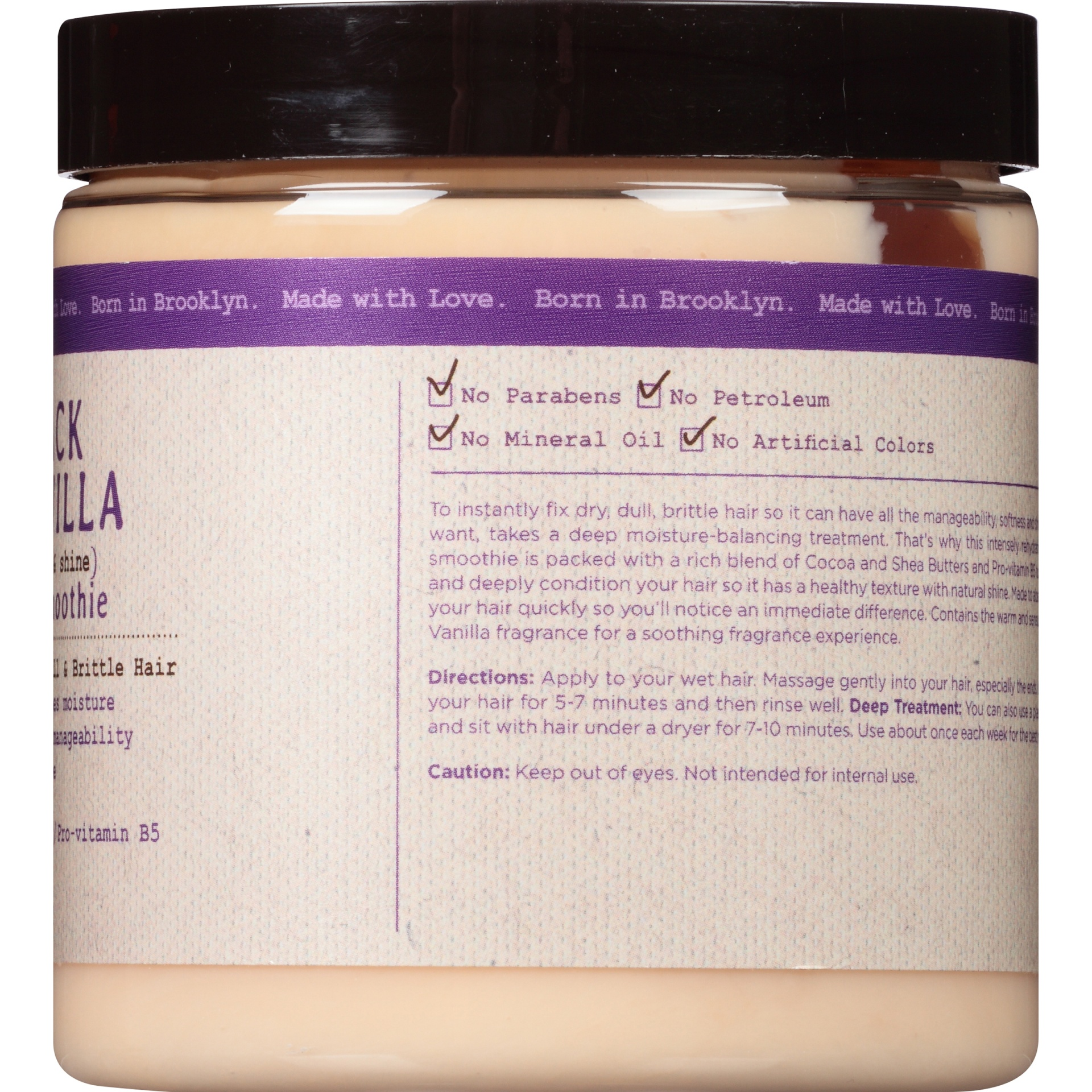 slide 4 of 6, Carol's Daughter Black Vanilla Moisture And Shine Hair Smoothie,