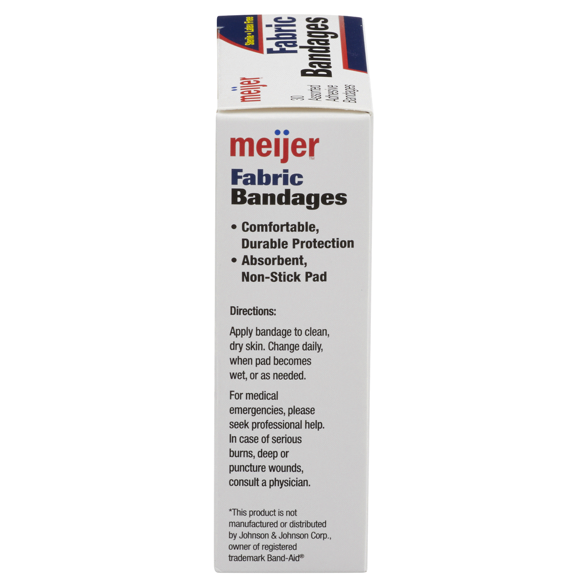 slide 3 of 6, Meijer Flexible Fabric Adhesive Bandages,