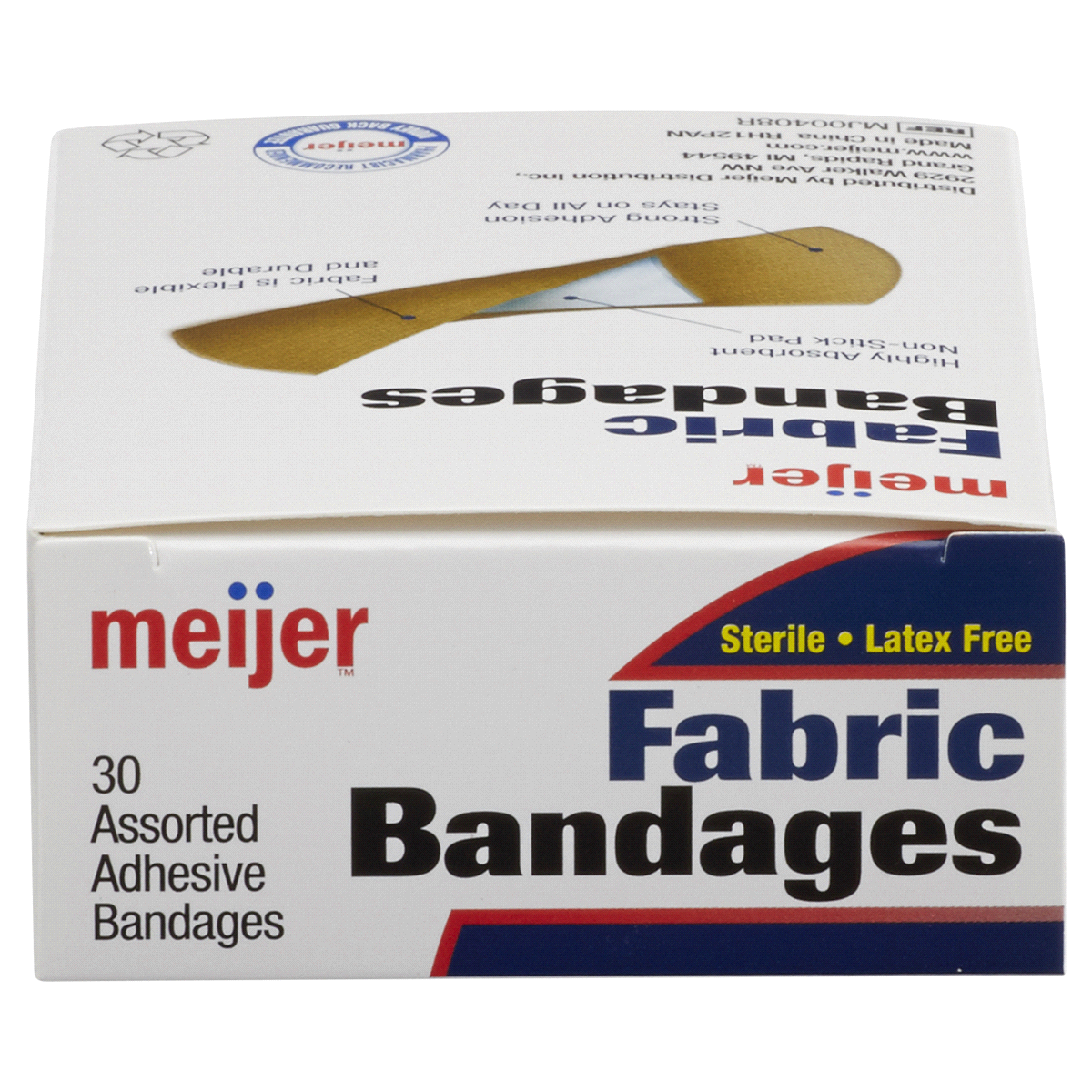 slide 5 of 6, Meijer Flexible Fabric Adhesive Bandages,