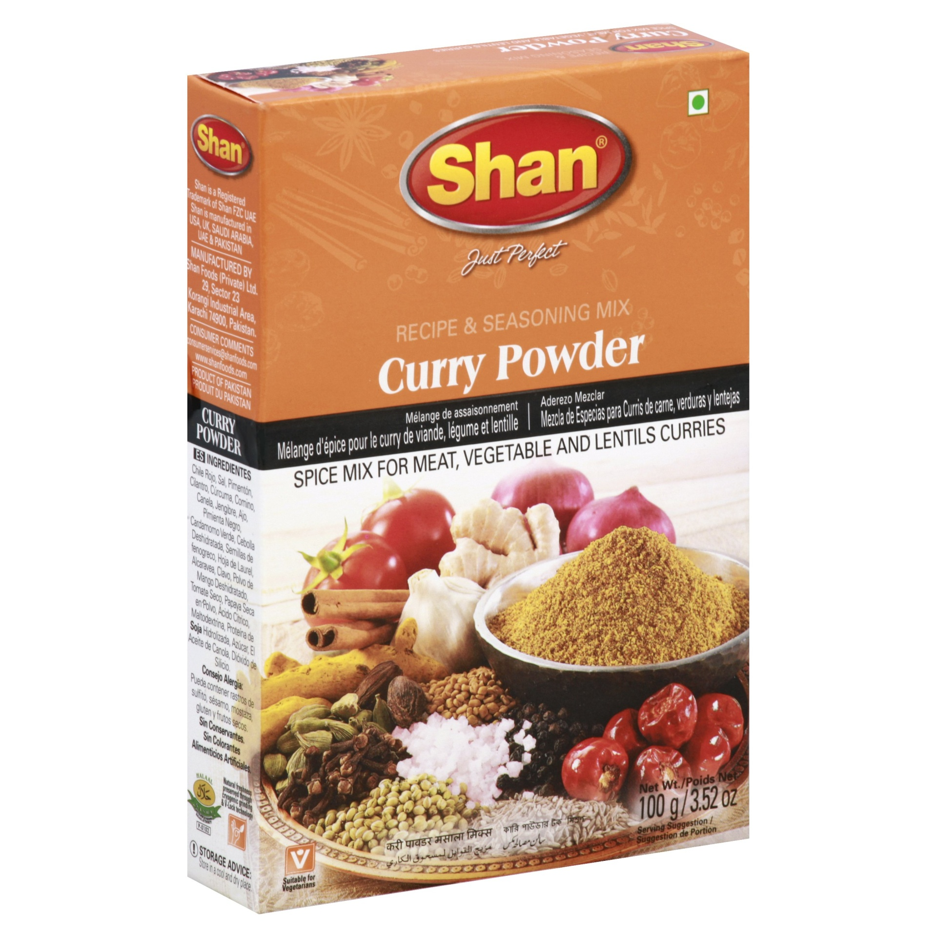 slide 1 of 1, Shan Curry Powder Mix,